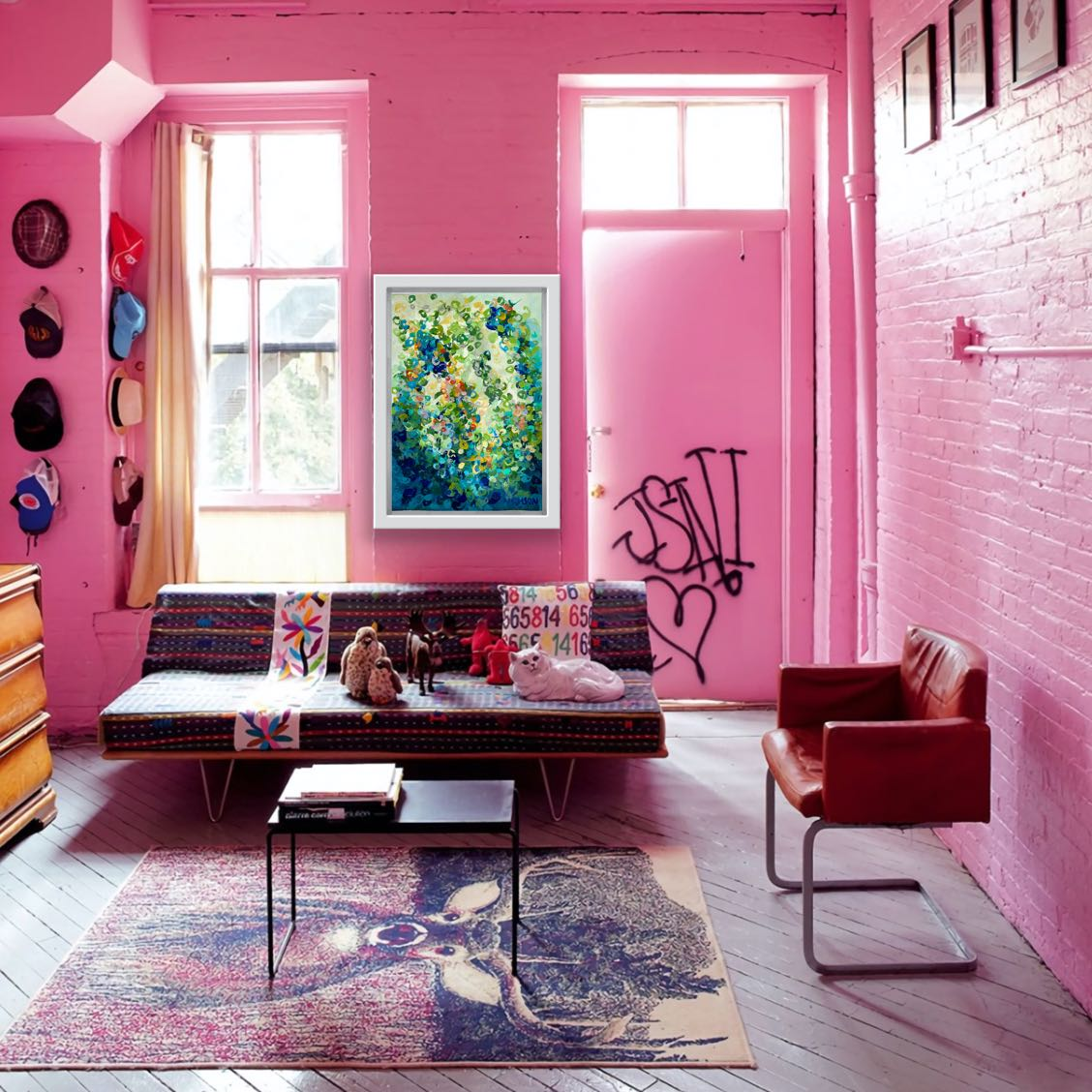 Meaning of Colour Pink